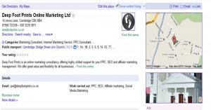 Google Maps Listing