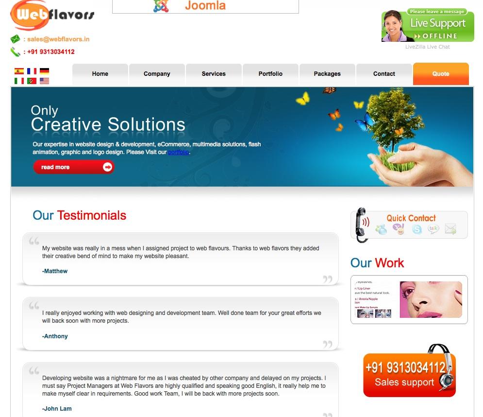 webfavors really honest testimonials